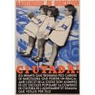"Original Vintage Spanish Propaganda Poster for ""Ajuntament de Barcelona - Ciutada!"" by Jan ca. 1940"