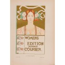 """Les Affiches Etrangeres """"Womens Edition"""" Stone Lithograph by Giffords - 1897-99"""