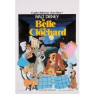 "Original Vintage Movie Poster ""La Belle at Le Clochard"" Walt Disney"