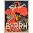 "Original Vintage French Poster Byrrh"" by Grun 1907"