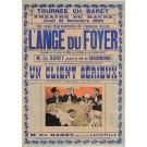 "Original Vintage French Poster ""Le Revue des Folies-Berge're"" by Grun. 1901"