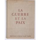 """Limited Edition Book Picasso """"La Guerre et La Paix"""" with Original Lithogrpah"""