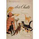 Steinlen Cats  Book Limited Edition Large Format Paris Drawings by Steinlen 1897