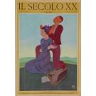 """Original Vintage Italian Poster """"Il Secolo XX"""" by Erberto Carboni 1931"""