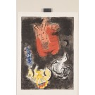 """Original Lithograph by Chagall from """"The Story of the Exodus"""" 1966"""