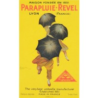 French PARAPLUIE-REVEL LYON FRANCE - (Small format)