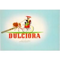 "Original Vintage Small Italian Poster for ""Dulciora"" Chocolate 1920's"