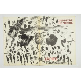 Derriere le Miroir (DLM) 175 December 1968 ANTONI TÀPIES 5 Original Color Lithos