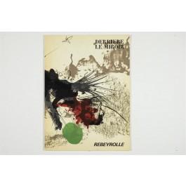Derriere le Miroir DLM No. 177 Paul Rebeyrolle with 7 Original Lithographs 1969
