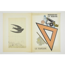 Set of 2 DLM No. 176 188 by Le Yaouang with Original Lithographs 1969-1970
