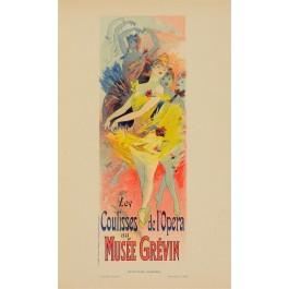 "French Lithograph ""Les Affiches Illustrees"", Chaix, Paris"