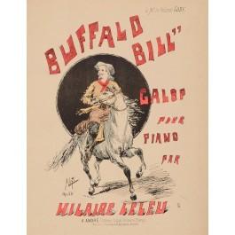Original Vintage Music Notes for BUFFALO BILL