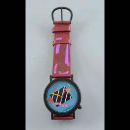 Limited Edition Original Silkscreened Art Watch by Neil Loeb