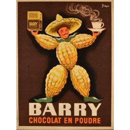 Advertising Poster for Barry Chocolate