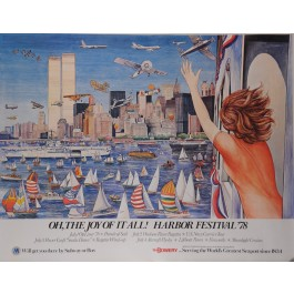 "American Poster ""OH, THE JOY OF IT ALL! HARBOR FESTIVAL '78"""