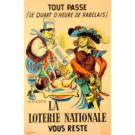 Loterie Nationale  - Tout Passe by Van Rompaey ca. 1940
