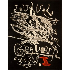 Miro Etching unsigened - number 768  In Miro Engraving Book 3