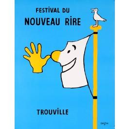 "French Vintage Poster ""Festival Du Neauveau Rire"" by Savignac"