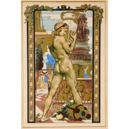 Original Lithograph by Anonymous for  l'Estampe Moderne 1897