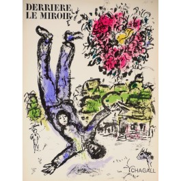"""Derriere le Miroir"" (DLM) no. 147 (1964) incl.3 Original Lithos by Marc Chagall"