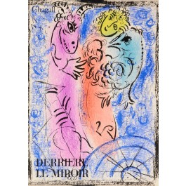 Derrière le Miroir (DLM)#132- June 1962 Mark Chagall 2 Original Colour Lithos