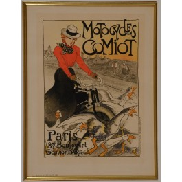 "Original Vintage French Lithograph from ""Les Maîtres de l'Affiche"" by Steinlen"