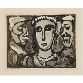 Original Lithograph on Paper by George Rouault