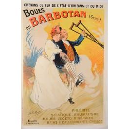 """Original Vintage French Travel Poster """"Port De Guerre - Toulon Antoine"""" by Calbet ca. 1920"""