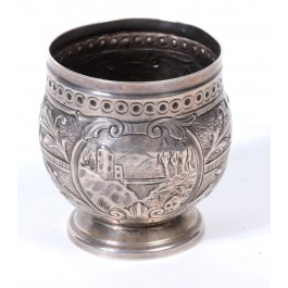 Austro-Hungarian silver cup, 19th century