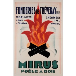 Original Vintage Poster MIRUS French Advertising 2nd edition Affiche LOUPOT
