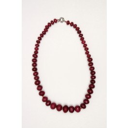 Natural Rubies Ruby Beads Semi-precious Necklace