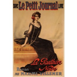 "Original French OVERSIZE Poster ""Le Petit Journal"" by Frédérique Vallet-Bisson"