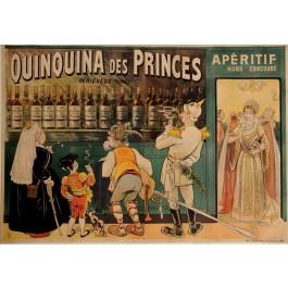 "Original Vintage French OVERSIZE Alcohol Poster ""Quinquina des Princes"" by Oge"