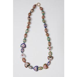 Handmade Chinese Cloisonné style Necklace