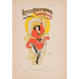 "Les Affiches Etrangeres ""Little Christopher"" Stone Lithograph by Anon - 1897-99"