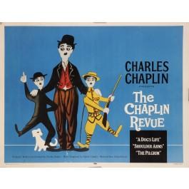 "Original Movie Poster ""Charlot Festival. United Artists"" by Leo Kouper 1959"