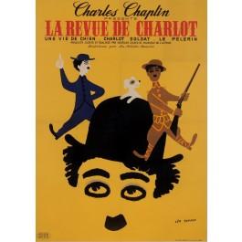 Original French Poster La Reviue de Charlot by Leo Kouper