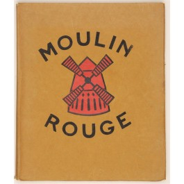 """Original Vintage Book of Lithographs by Van Houten """"Moulin Rouge"""" HENRY-JACQUES 1925"""