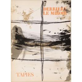 """""""Derriere le Miroir"""" (DLM) no. 168 (1967) incl. 7 Original Lithos by A. Tapies"""