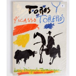 "Limited Edition Picasso ""Toros Y Toreros"" Lithography by Mourlot 2nd Ed. 1962"