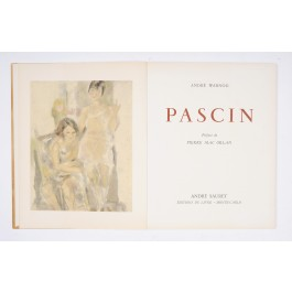 Limited Edition PASCIN Andre Warnod Suaret 1954 - Exemplaire 640