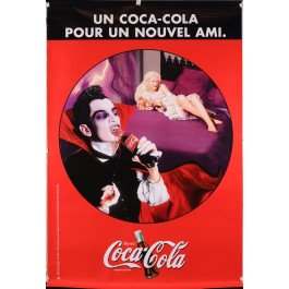"Original Vintage French Poster for ""Coca Cola"""