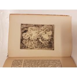 """Limited Edition 87/200 Dostojewski """"Nasser Schnee"""" W. Geiger Etchings"""