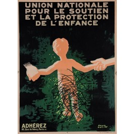 Original Vintage French Poster for Union Nationale - Paper
