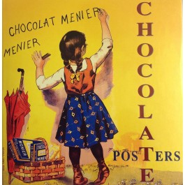Vintage CHOCOLATE POSTERS Book by Dr.Israel Perry & Alain Weill 2002