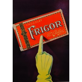 "French Chocolate Advertisement Poster ""Chocolat FRIGOR - Cailler"""