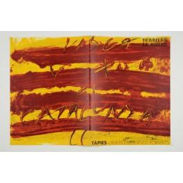 """""""Derriere le Miroir"""" (DLM) no. 200 (1972) including 3 Original Lithographs by Antoni Tapies"""