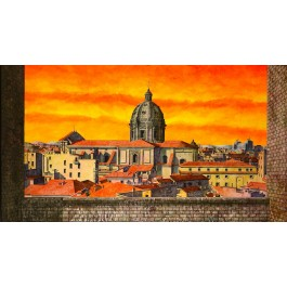 Tonino Kaputo View of Rome