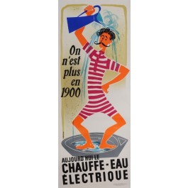 Original Vintage French T Poster Advertising