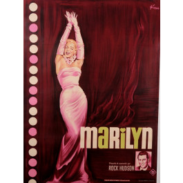 Vintage French Poster Advertising Marilyn Monro